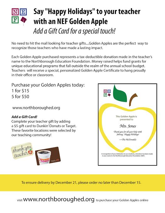 golden apple holiday 2015